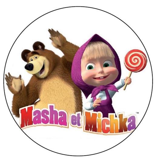 Disque Azyme Masha et Michka