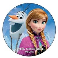 Disque Azyma La reine des neiges V1