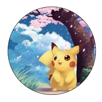 Disque Azyme Pikachu Pokemon