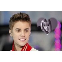 Photo sur gateau - justin Bieber