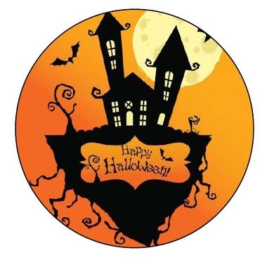 Disque Azyme Halloween jetecroque