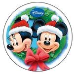 Disque Azyme Mickey Noel jetecroque
