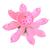 bougle fleur rose