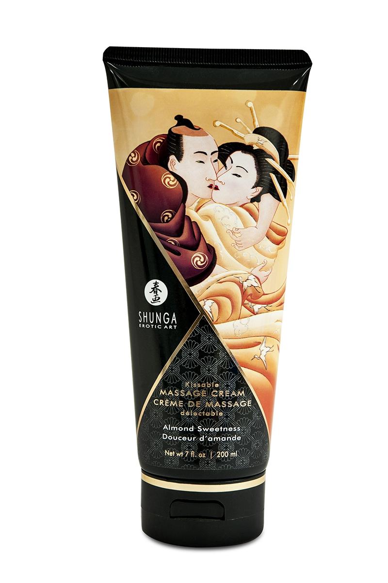 Crème de massage délectable douceur amande -  Shunga