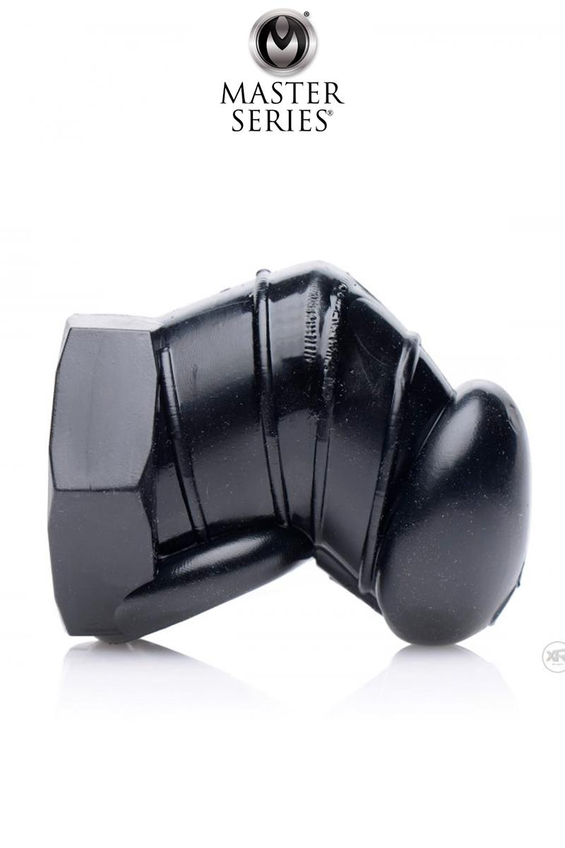 Cage de chasteté restrictive noire - Master Series