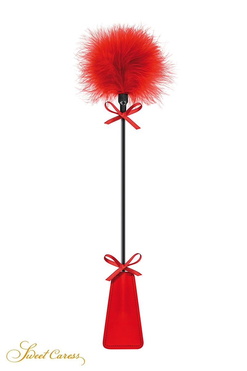 Tapette à pompon rouge - Sweet Caress