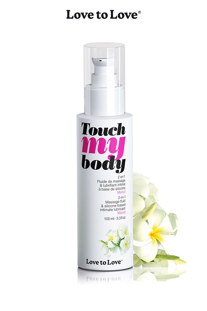 Fluide massage & lubrifiant monoï