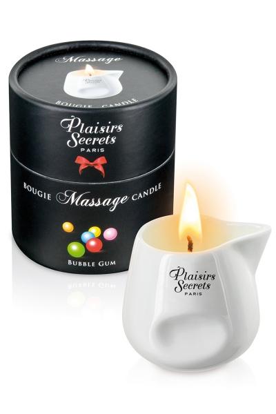 Bougie de massage Buble gum