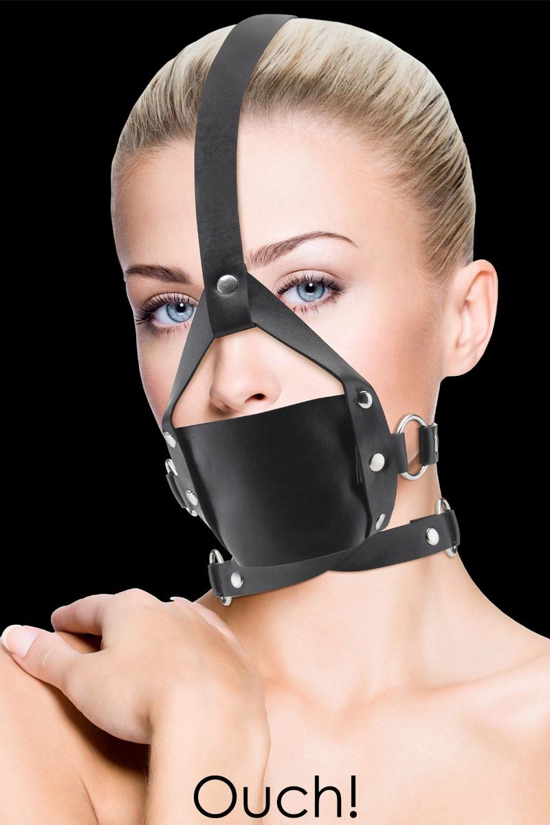 Baillon Leather Mouth Gag Ouch