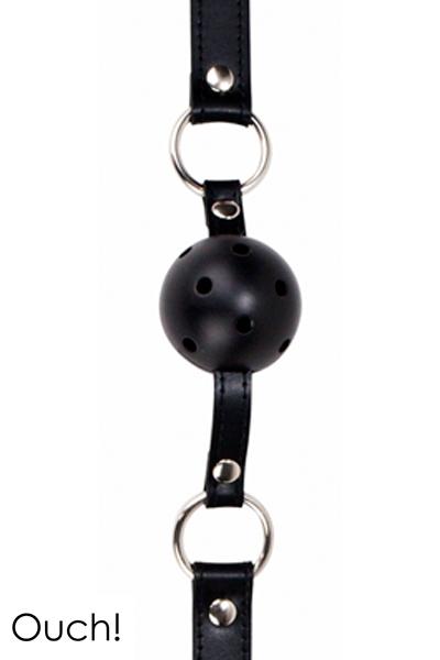 Gag Ball noir Ouch!