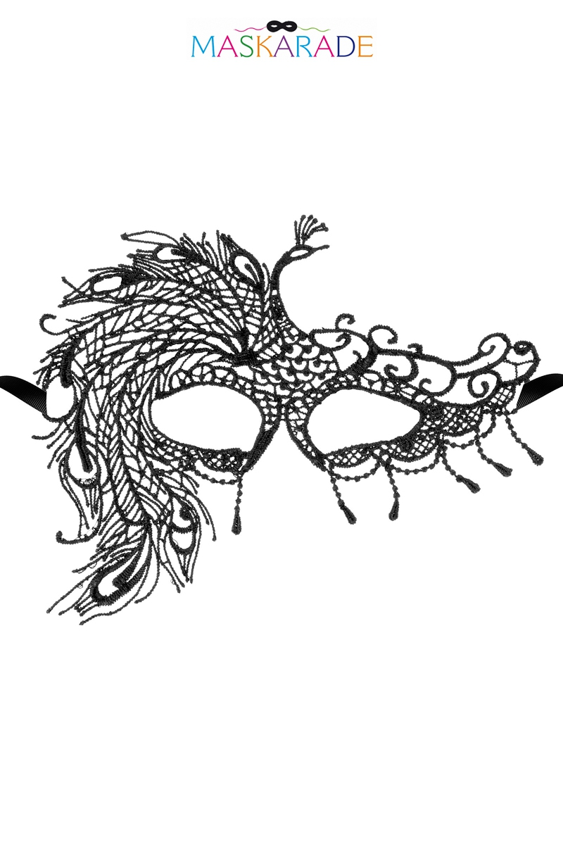 Masque loup broderie souple Fair Lady