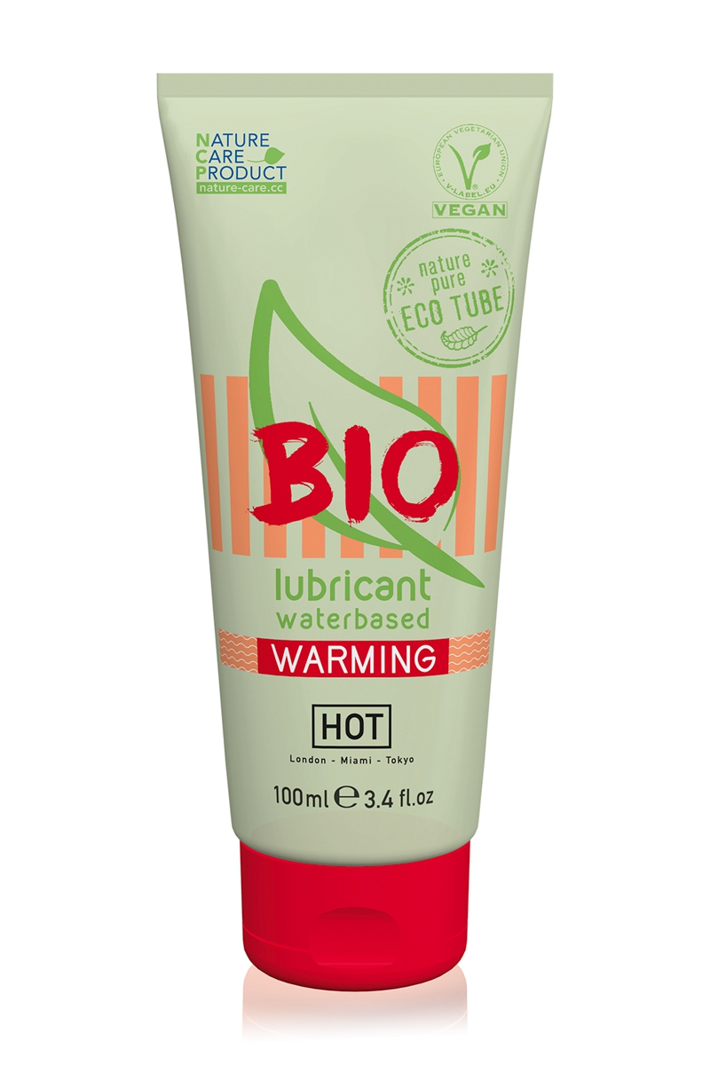 Lubrifiant HOT BIO Warming 100 ml
