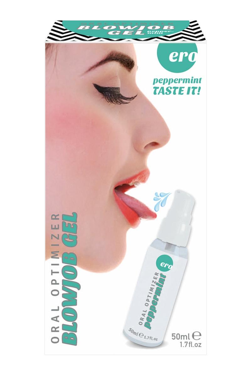 Gel oral optimizer blowjob menthe poivrée