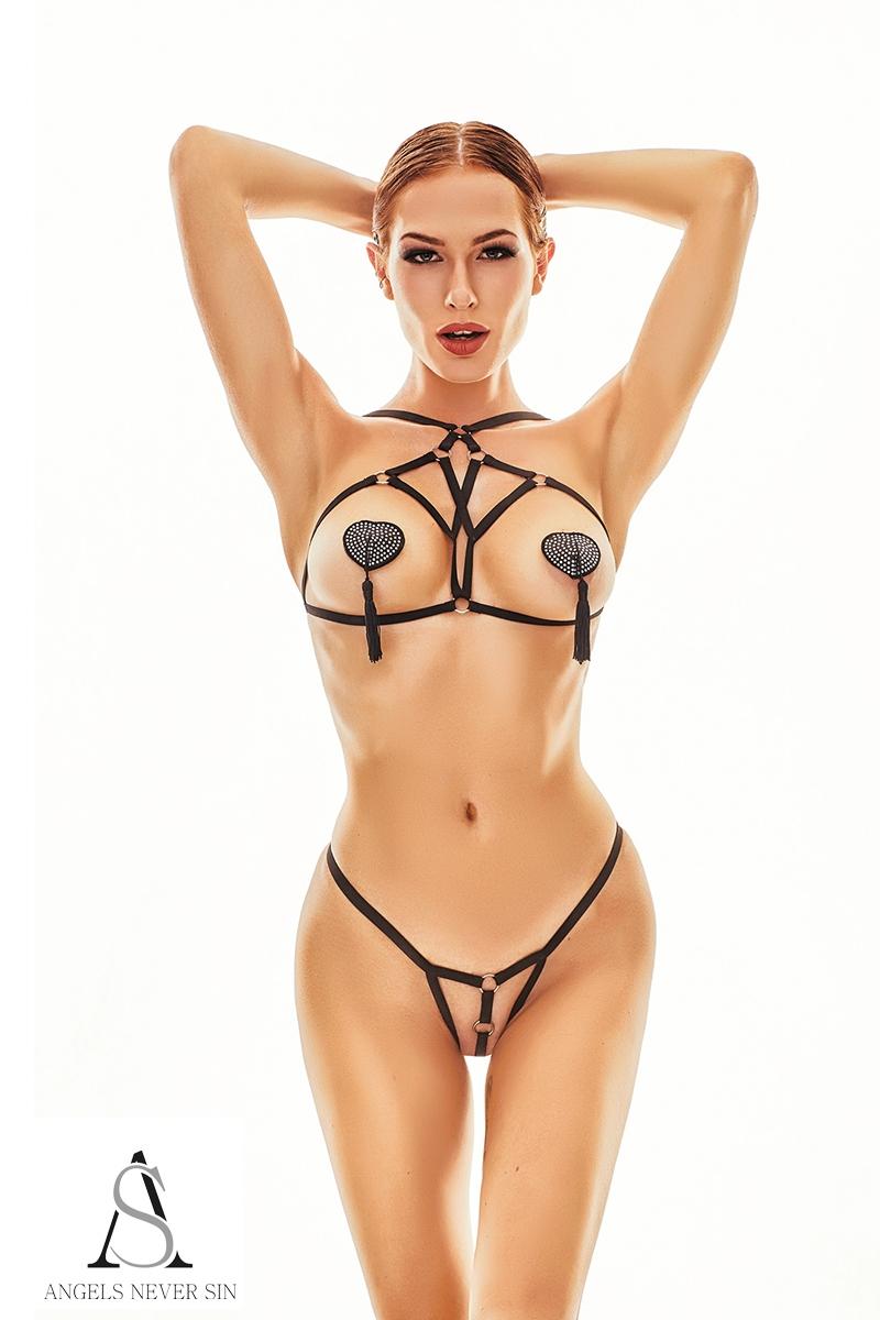 Harnais lingerie Xantho - Angels Never Sin