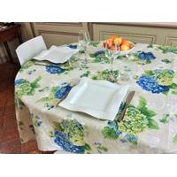 Nappe Hortensias bleus