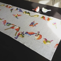 Chemin de table Happy birds