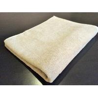 Serviettes de toilette en tissu éponge lin et coton