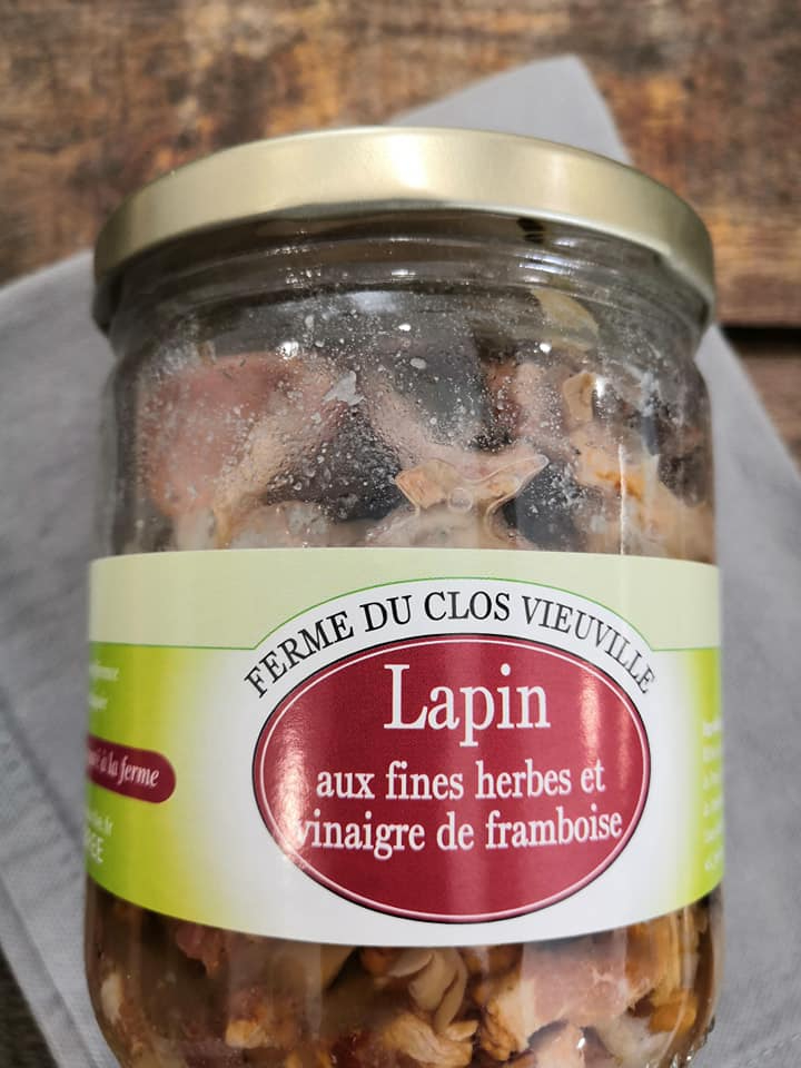 LAPIN AUX FINES HERBES