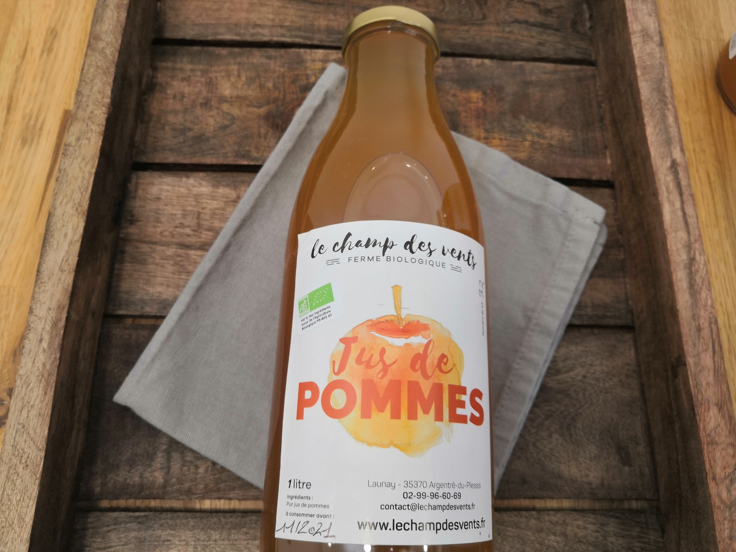 JUS POMME