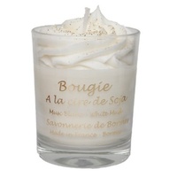 Bougie chantilly Musc Blanc