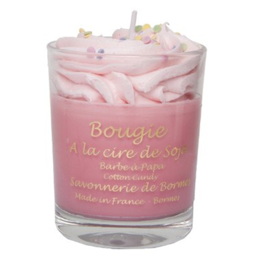Bougie chantilly 160 gr - Barbe à Papa - 1a
