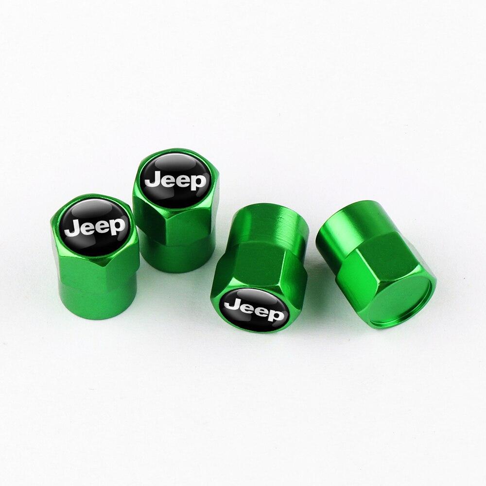 Capuchon-de-Valve-de-pneu-de-roue-avec-Badge-de-voiture-4-pi-ces-pour-JEEP