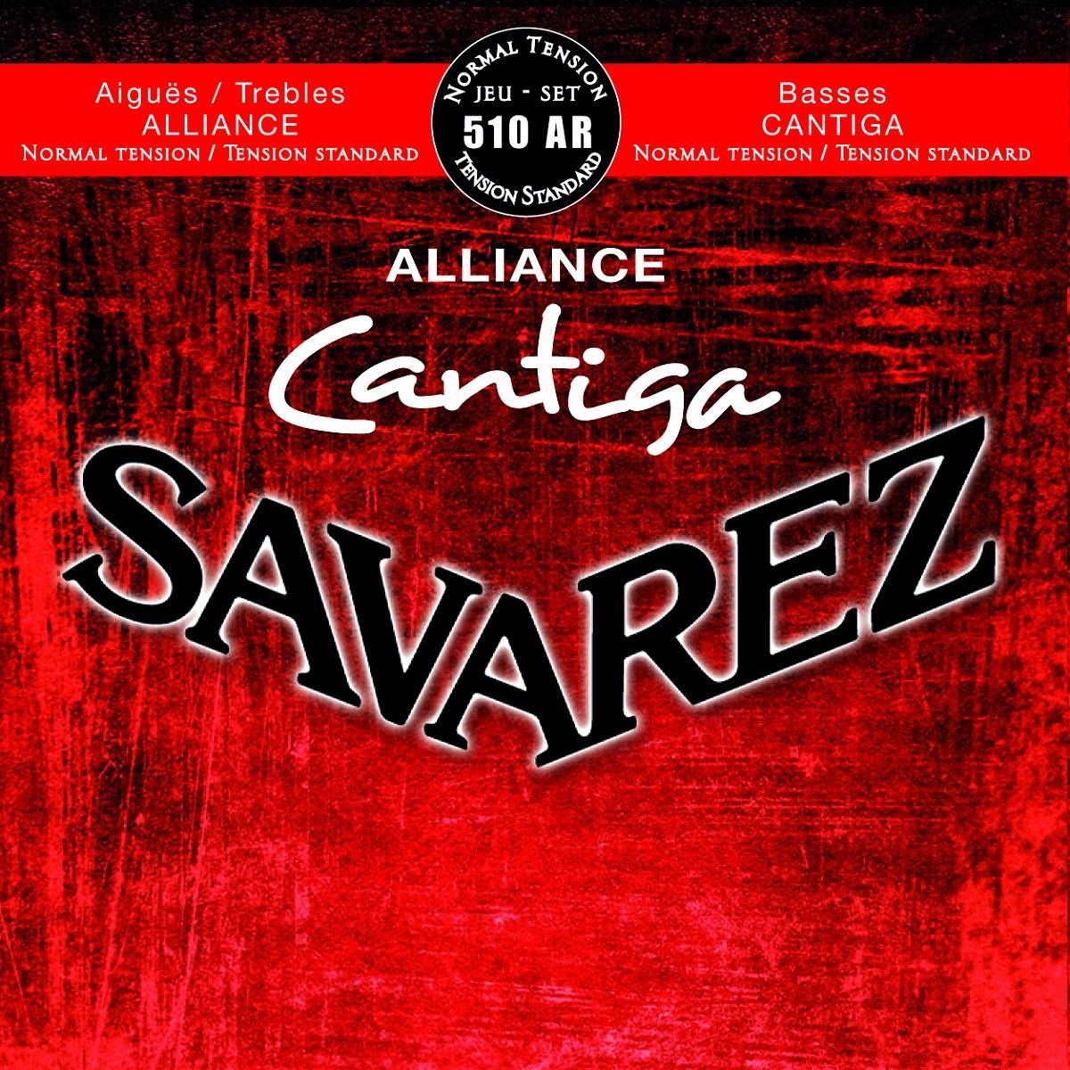 SAVAREZ CORDES CLASSIQUE CANTIGA ALLIANCE 510AR