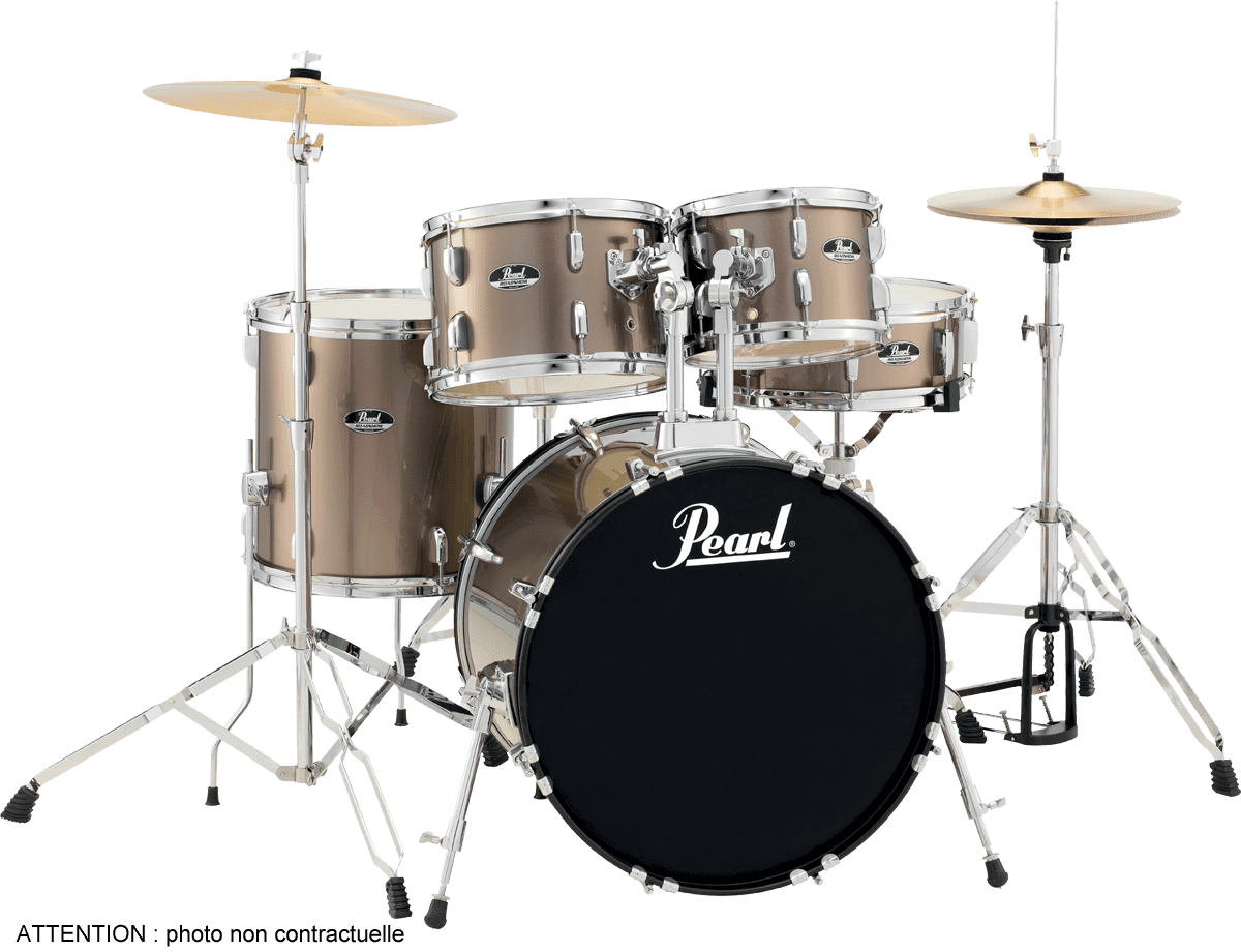 PEARL ROADSHOW 5 FUTS Bronze Metallic