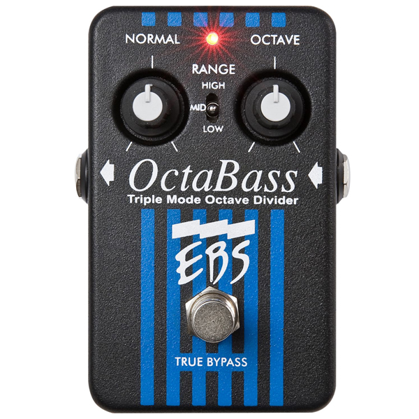EBS PEDALE OCTABASS POUR BASSE