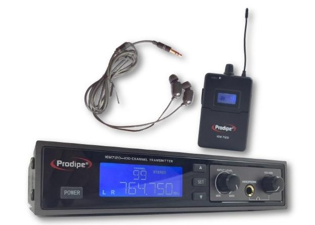 IN-EAR WIRELESS MONITOR SYSTEM IEM 7120