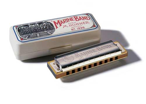 HARMONICA HOHNER MARINE BAND C/DO