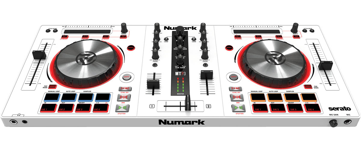 controleurs dj usb mp3 numark mixtrack pro dj. Black Bedroom Furniture Sets. Home Design Ideas