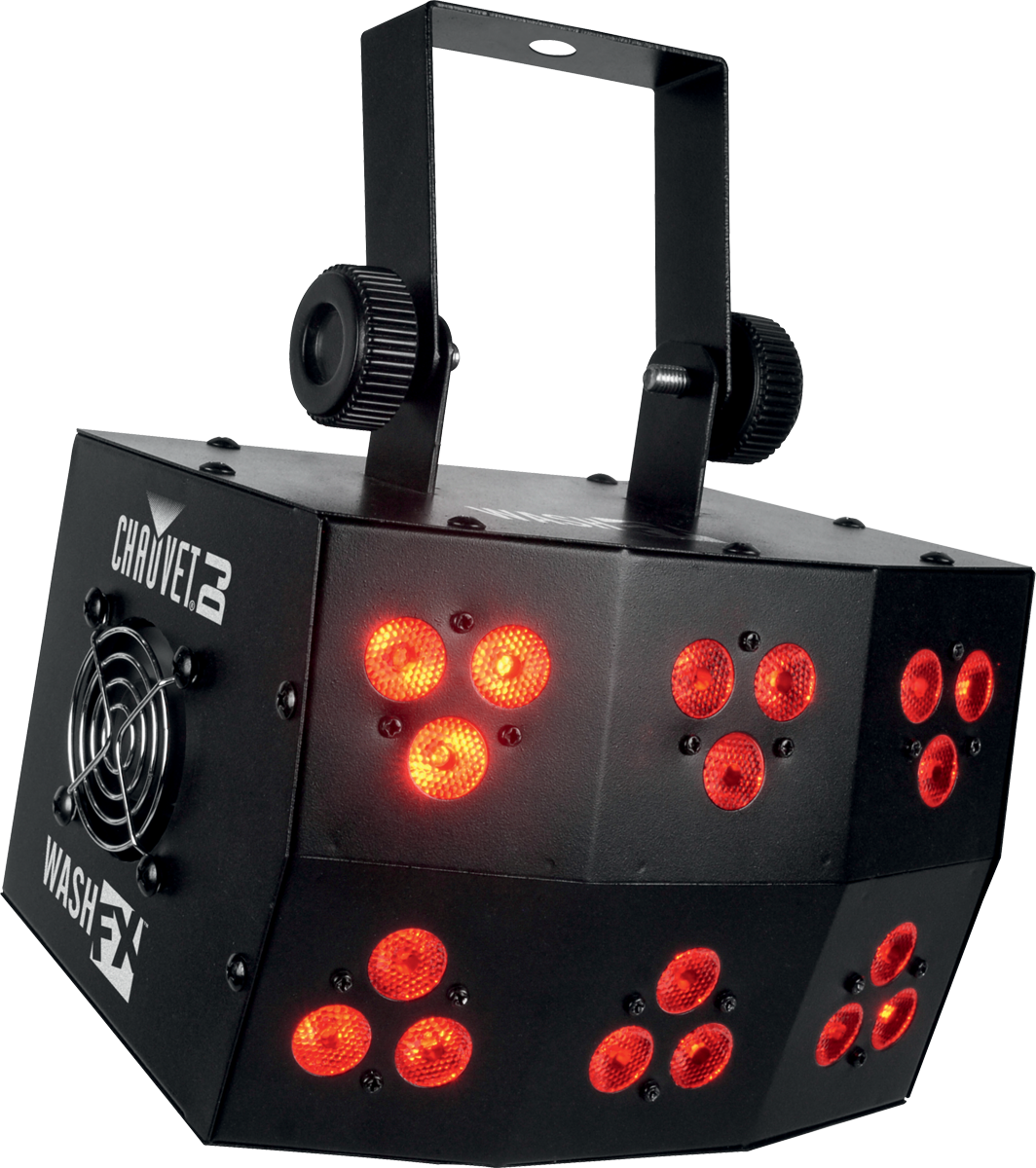 DESTOCKAGE CHAUVET DJ WASH FX 18 LED TRI de 4W