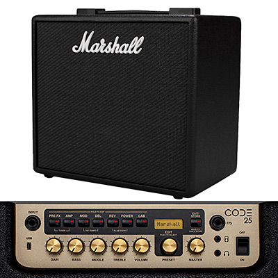 MARSHALL AMPLI CODE 25