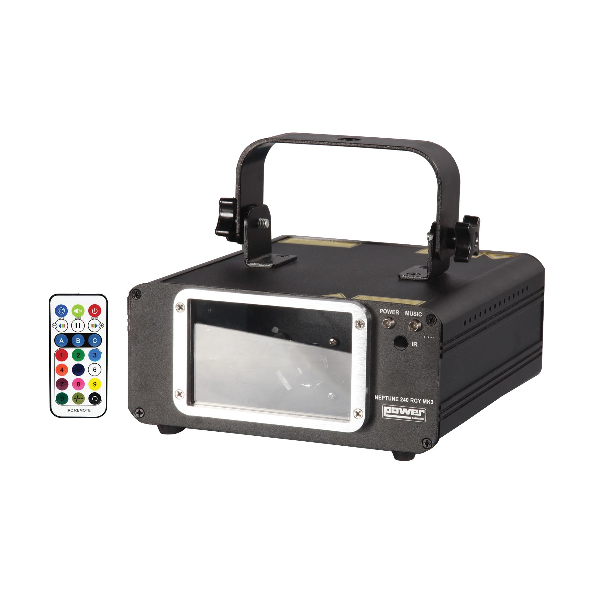 DESTOCKAGE POWER LIGHTING LASER NEPTUNE 240 RGY MK3
