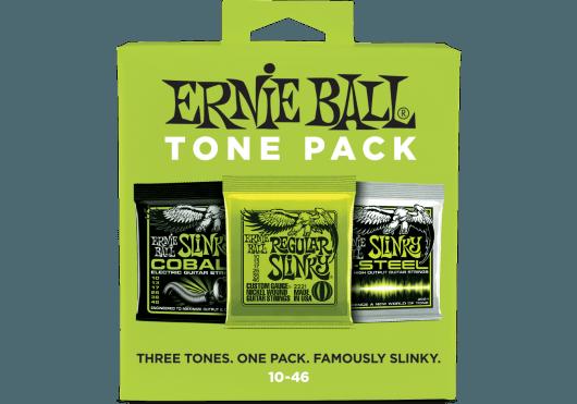 ERNIE BALL TONE PACK DE 3 JEUX