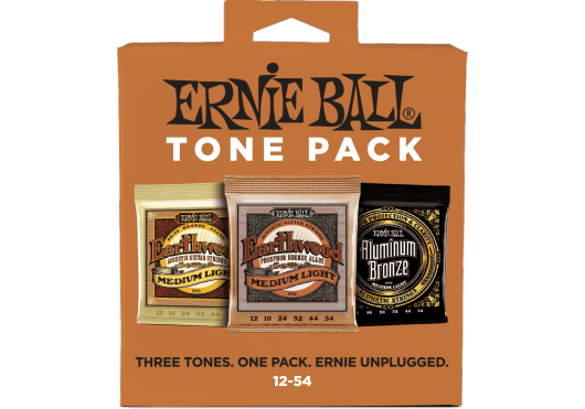 ERNIE BALL TONE PACK ACOUSTIQUE DE 3 JEUX