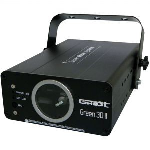 DESTOCKAGE GHOST GREEN 30 II LASER