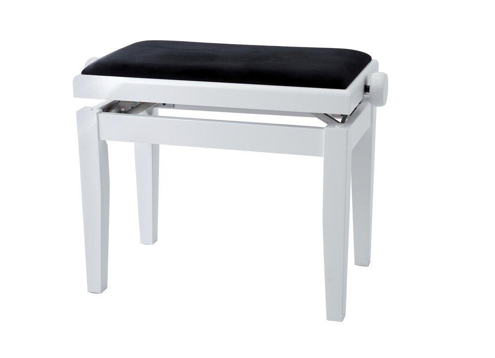 GEWA BANQUETTE PIANO / BLANC MAT / 130020