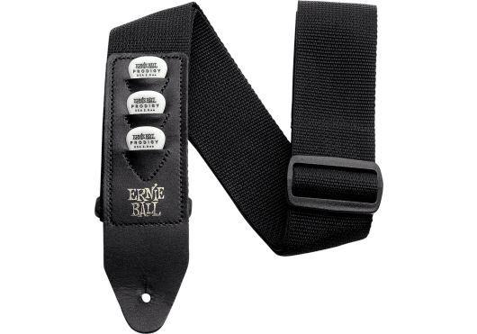 ERNIE BALL COURROIE PICKHOLDER NOIR