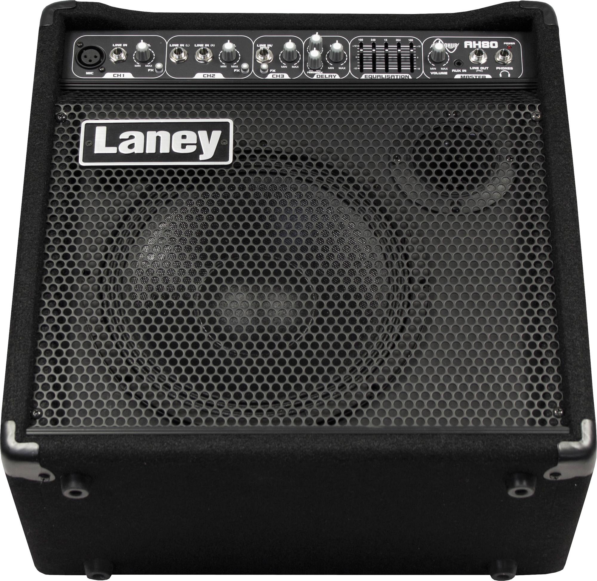 LANEY AMPLI AUDIOHUB AH80 80W BATTERIE ELECTRONIQUE