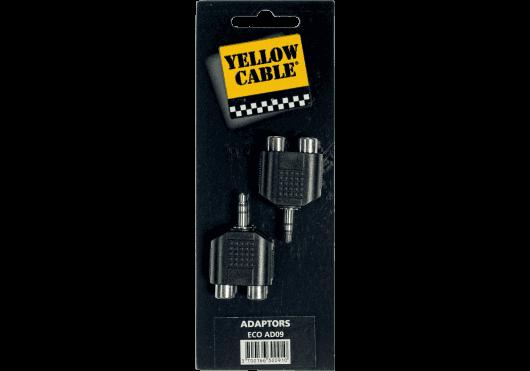 RCA/mini Jack Yellow Cable AD09 (PAR 2 PIECES)