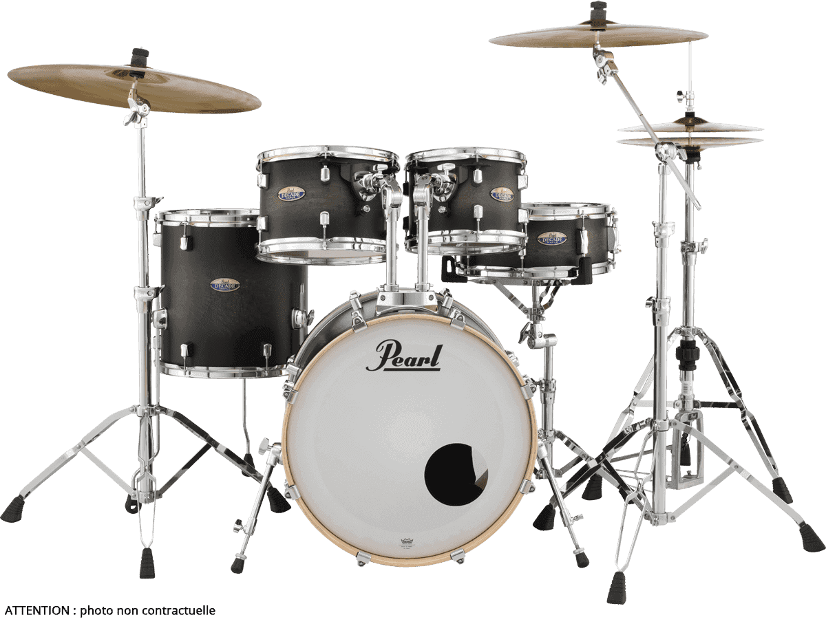 PEARL Decade maple satin black burst