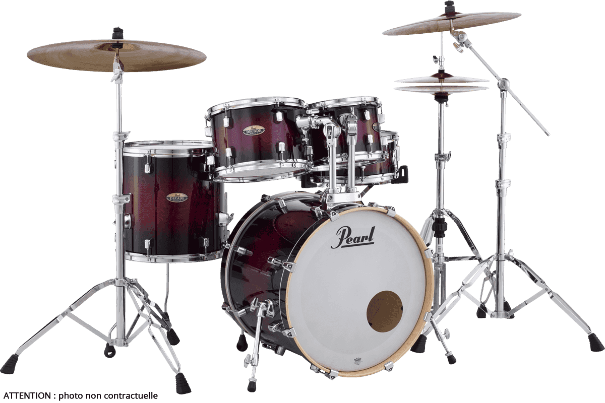 PEARL Decade maple  gloss deep red burst