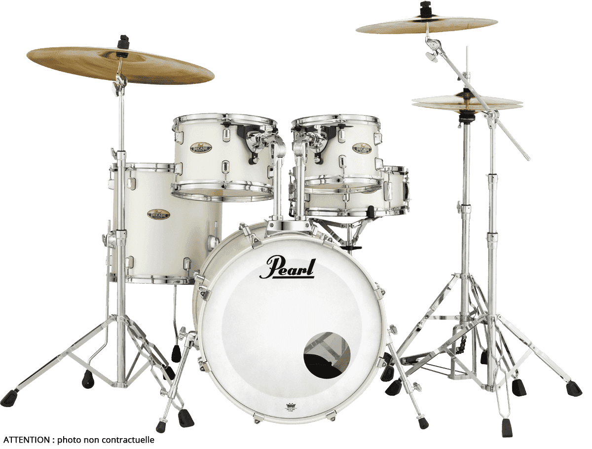 PEARL Decade maple  white satin pearl