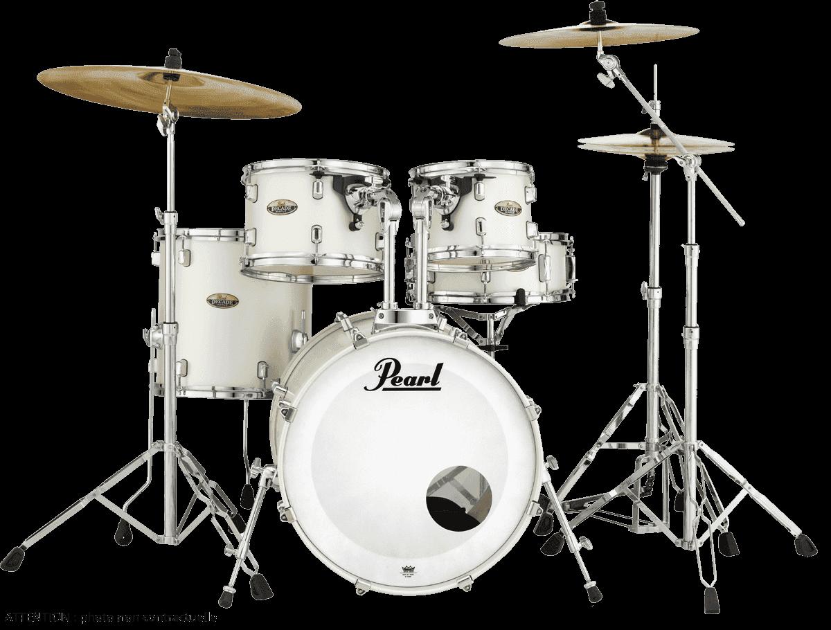 PEARL Decade maple  white satin pearl