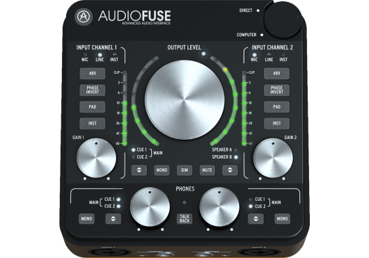 ARTURIA INTERFACE AUDIOFUSE-REV2