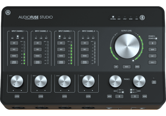 ARTURIA INTERFACE AUDIOFUSESTUDIO