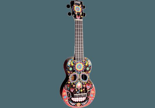 MAHALO UKULELE SOPRANO SERIE ART CRANE MEXICAIN