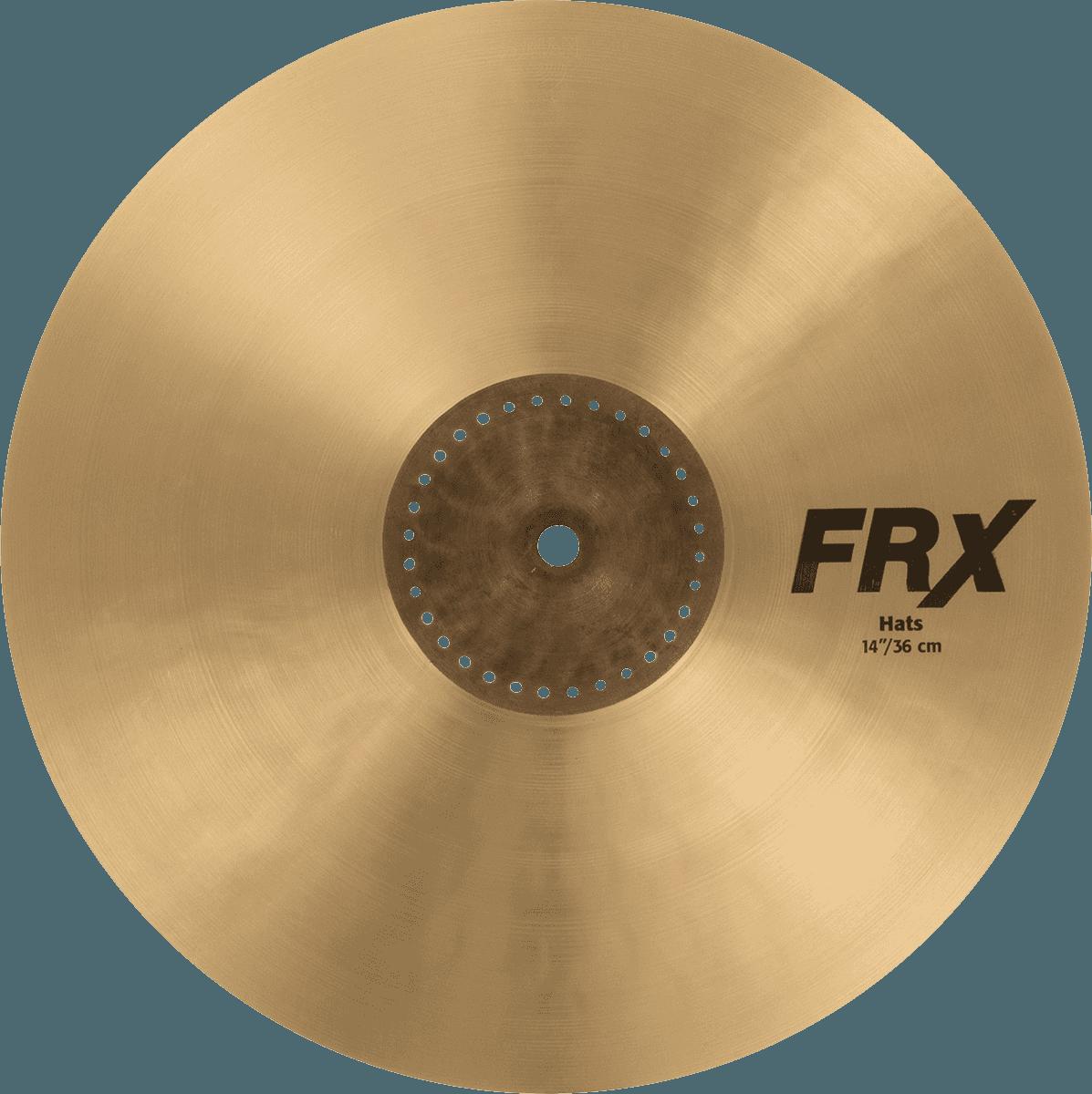 SABIAN 14  FRX hi-hat- PSA FRX1402
